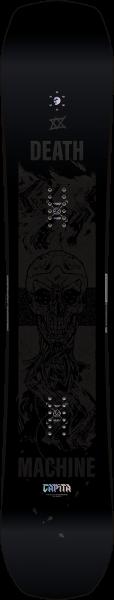 Black Snowboard of death