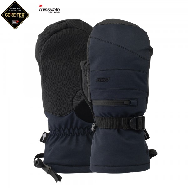 Wayback GTX Short Mitt + WARM Black