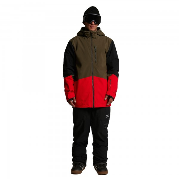 BL STRETCH GORE JACKET RED