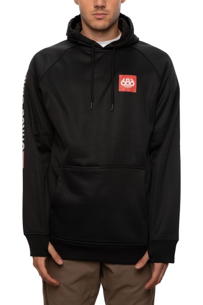 MNS BONDED FLC PULLOVER HOODY