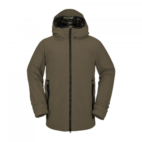 OWL 3-IN-1 GORE JACKET DARK TEAK